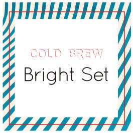 """画像1: Cold Brew Pack  3種 """"Bright Set"""" (1)"""